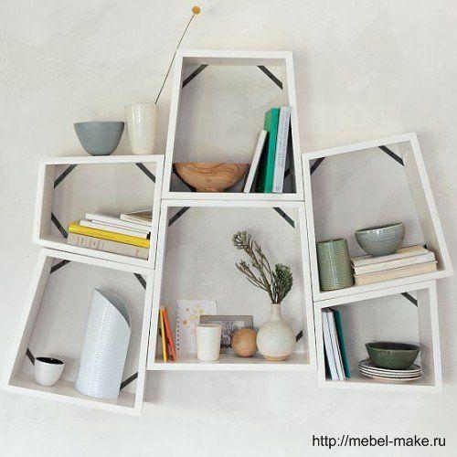 Квадратные полки » Мебель своими руками - сделай сам шкаф-купе, шкафы, кухни, столы, диваны, стенки