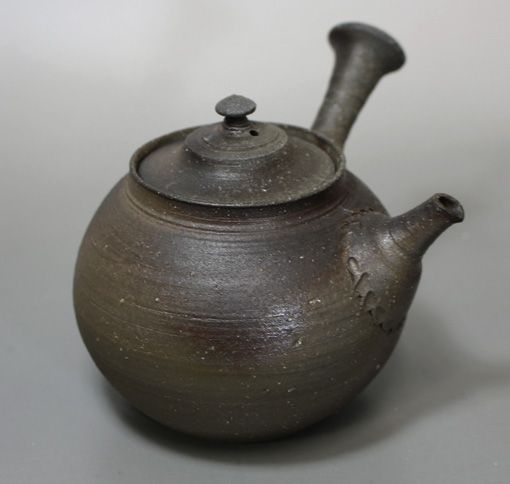 "山田想作 真焼急須 / ""Japanese teapot for greentea"" ""Japanese pottery"" Mayake teapot by Yamada Sou"