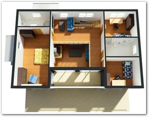 diseo de casas por dentro y modernas