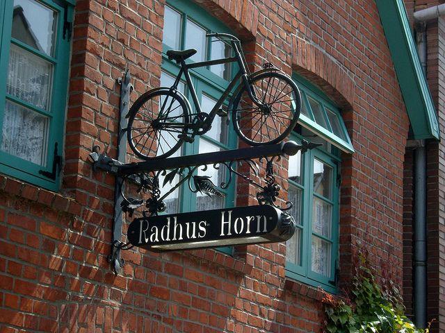 bike shop in Schleswig Holstein, Germany