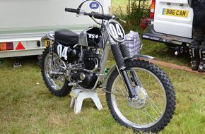 1966 BSA GP Factory Works Bike