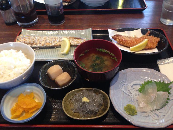 太刀魚塩焼き定食