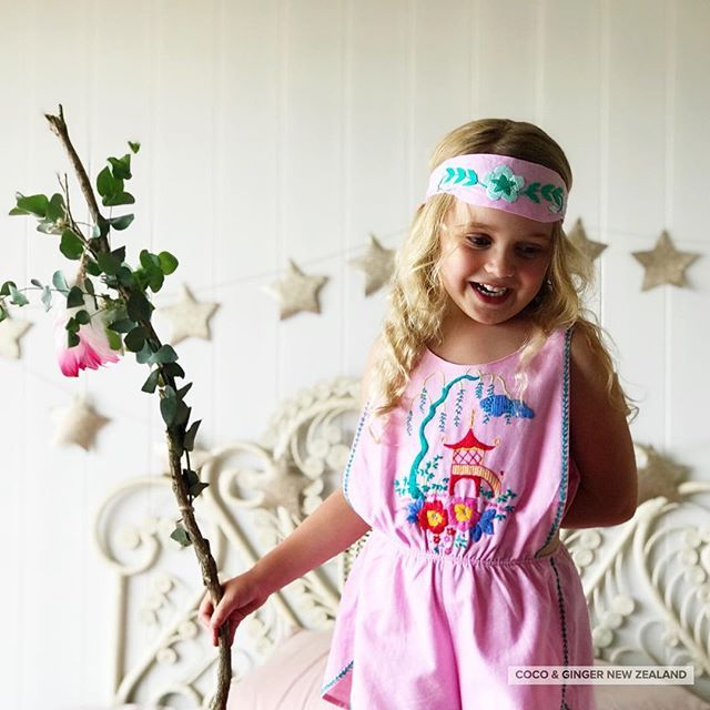 Sitting pretty in pink. Channelling or summer vibes today amongst this rain... Remember South Island cut off is tonight and North Island is tomorrow for guaranteed delivery pre Christmas! Local pick up available until Saturday x #girlsfashion #toddlerfash
