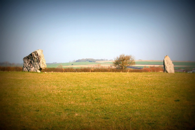 The Longstones Near Avebury