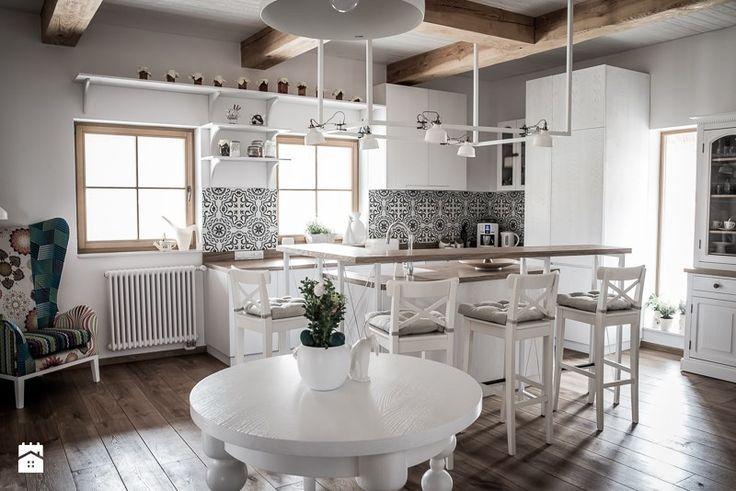 Dom jednorodzinny - zdjęcie od grupakmk - Kuchnia - Styl Rustykalny - grupakmk