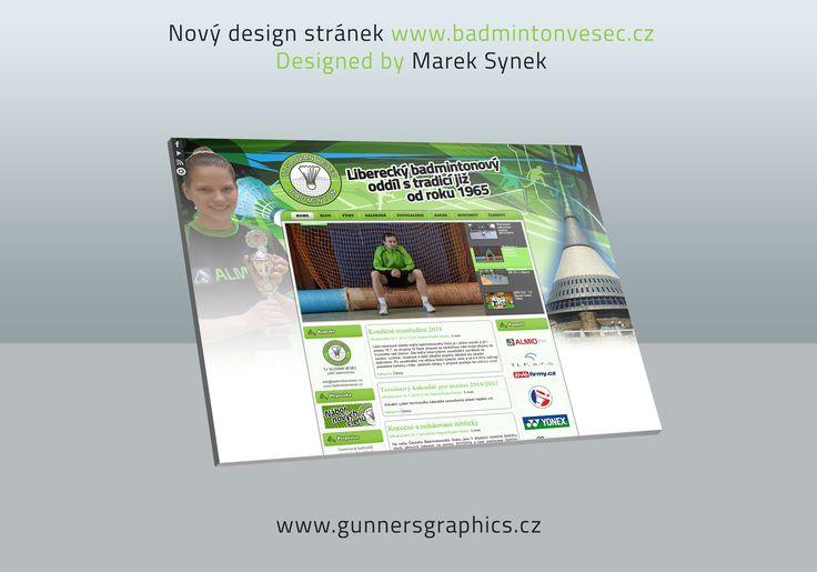 WebDesign for TJ Slovan Vesec Badminton