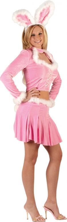 Bunny Hop Sexy Adult Costume,$35.99