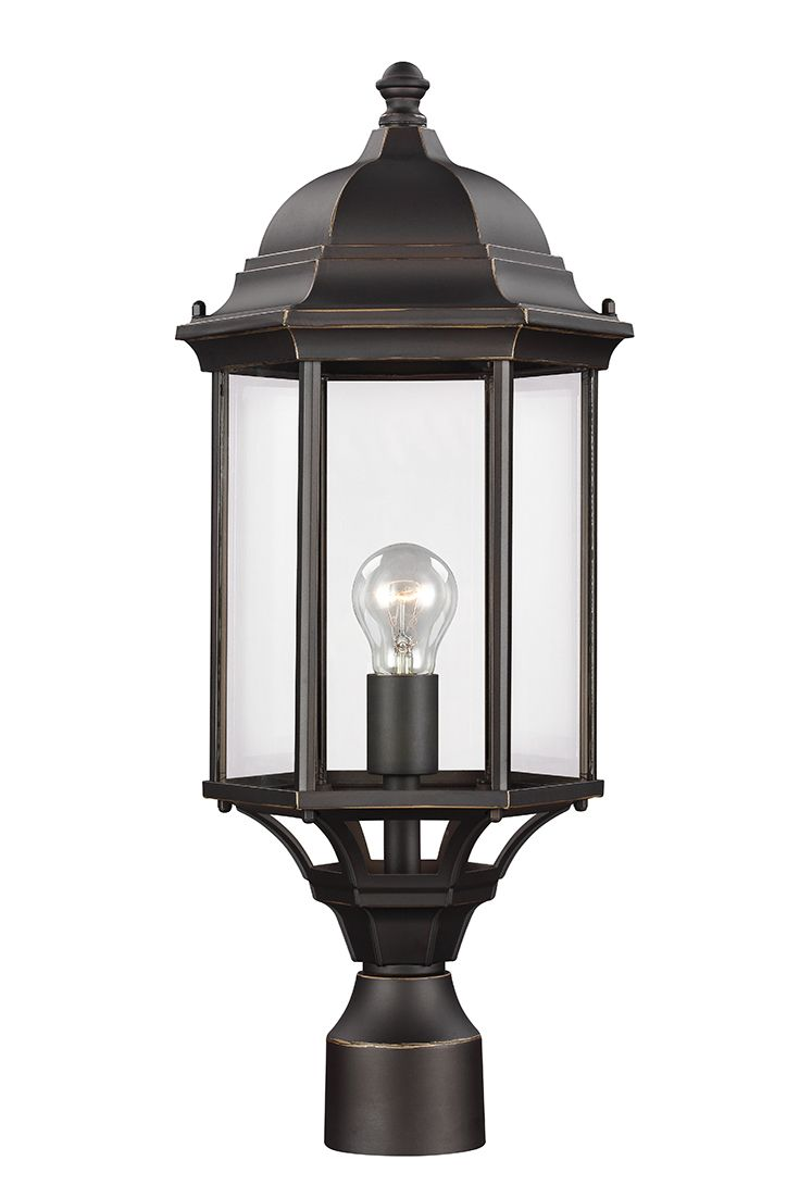 49 best outdoor lighting ideas images on pinterest exterior sevier 1 light outdoor post lantern by sea gull lighting brings timeless design to arubaitofo Images
