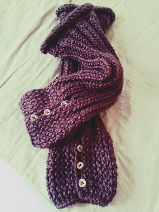 Loom Knitted Leg Warmers By Vera M Subscribers
