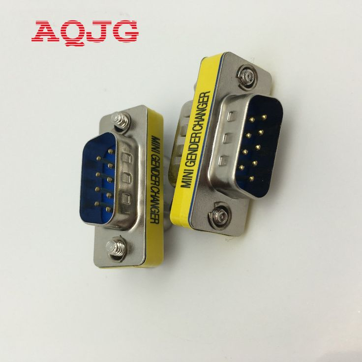 1pcs 9 Pin RS-232 DB9 Male to Male Serial Cable Gender Changer Coupler Adapter Hot WorldwidePromotion AQJG  EUR 0.50  Meer informatie  http://ift.tt/2swF3TV #aliexpress
