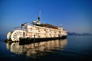 Sailing through the beautiful Ha Long Bay on a classic paddle steamer, Emeraude Classic Cruises offers English-guided tours through Sung Sot Grotto and...