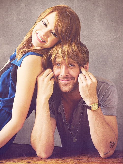 emma stone & ryan gosling | Sexxxxy | Pinterest Emma Stone And Ryan Gosling