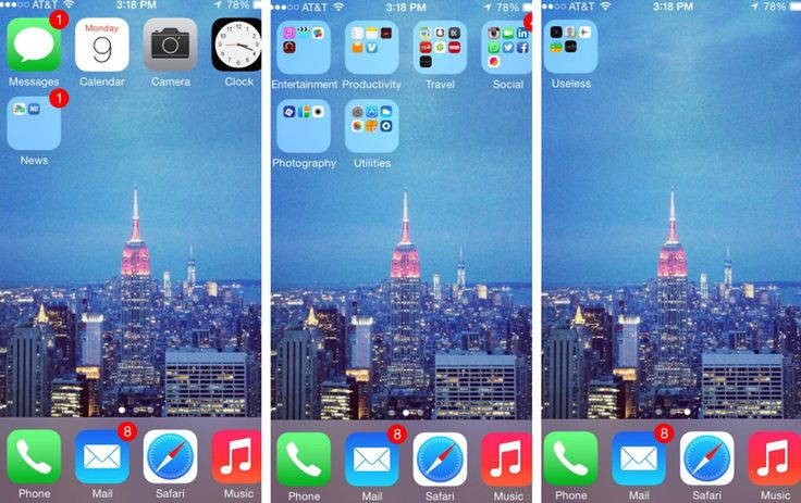 Take a look at these 7 different ways you can organize your mobile apps.