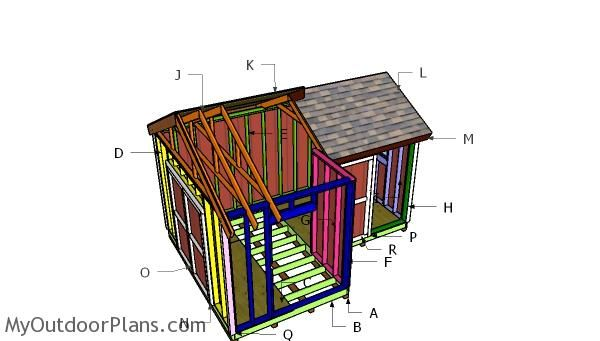 Shed Plans - Building a 12x8 8x8 shed - Now You Can Build ANY Shed In A Weekend Even If You've Zero Woodworking Experience!