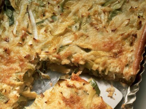 Recette Quiche au poireau et au thon, notre recette Quiche au poireau et au thon - aufeminin.com