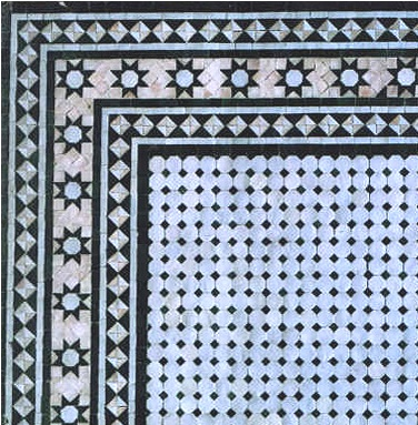 Moroccan Mosaic Tile Product Combinations Border For Floors Walls