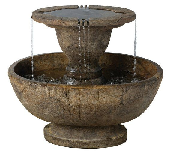 Buy Henri Alfresco Fountain and Light Relic - Lava at Argos.co.uk, visit Argos.co.uk to shop online for Water features, Garden decoration and landscaping, Home and garden