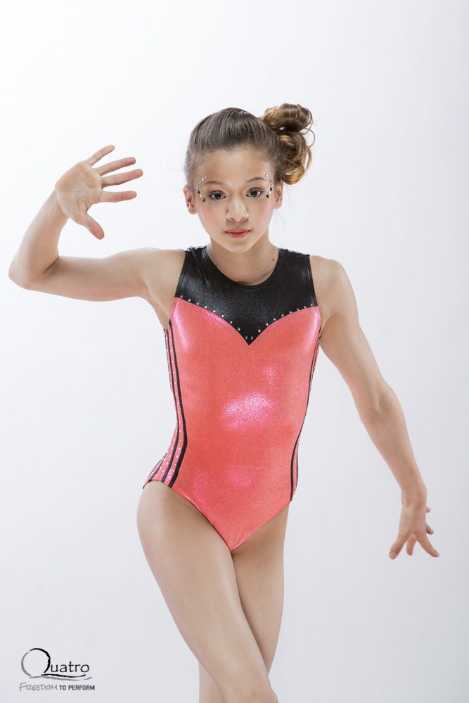 Tiamo Children's Gymnastics Leotard by Quatro