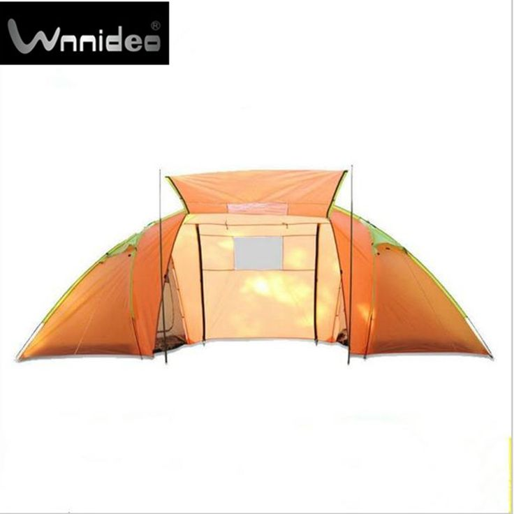 218.00$  Buy here - http://ain0u.worlditems.win/all/product.php?id=32759047157 - Wnnideo Outdoor Equipment Two Rooms One Hall 3-4 People 4 to 6 Families Double Dew Camp Four Seasons Tent Camping Bag Ma