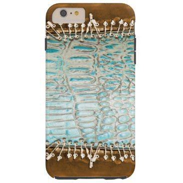 """Title : 101, Southwest, Alligator, Turq Leather Print Tough iPhone 6 Plus Case  Description : Patterns, Fabrics, Textiles, """"South-American-Inspired"""", Aztec, Mayan, Inca, Cultural, Ethnic, """"Tribal-Prints"""", Gifts"""", """"Home-Décor"""", Fashions, """"Custom-Designs"""", """"Native-American-Indian"""", Ikat, Kokopelli, Western, Southwest, Vibrant, """"Tribal-Art"""", Symbolic, Iconic, Nationality, Exotic, Contemporary, Modern, Stylish, Trendy, """"Custom-Designs"""", Traditional, """"Bold-Colorful-Fabrics"""", """"Fun-Fabrics""""…"""
