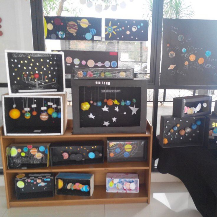 Astronomy - Solar System dioramas and projects!