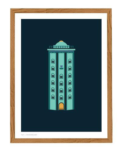 Rundetårn - Wonderhagen Poster