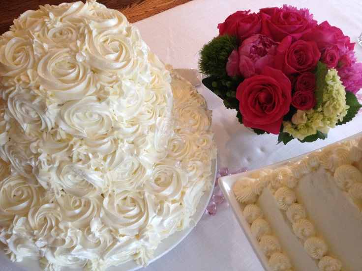 of wedding cakes-white chocolate cake with raspberry mousse and lemon ...