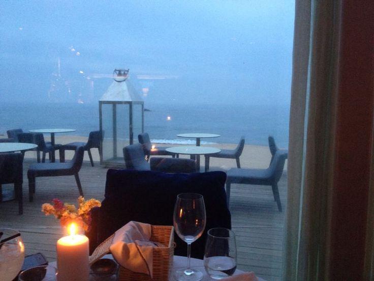 L'Kodac, restaurant at the beach Praia Do Aterro