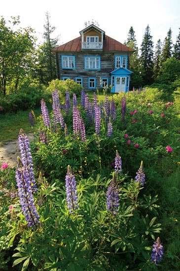 I could imagine living a nice life here. @Matty Chuah Botanical Garden on the Solovetski Islands