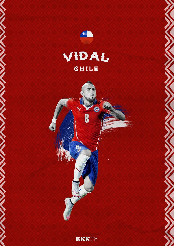 Player Graphics I did for KICKTV for the Copa America.
