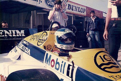 https://flic.kr/p/6mbc7H | Keke Rosberg | Keke Rosberg Williams Honda FW10 Brands Hatch 28th & 29th August 1985