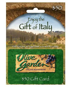 Enter to Win a $50 Olive Garden Gift Card - Ends May 20th at Midnight