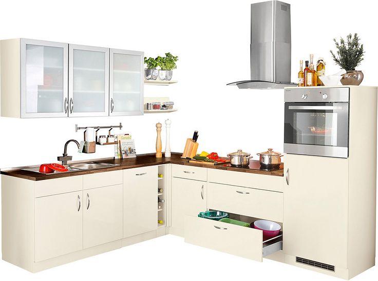 Die besten 25+ L küche mit elektrogeräten Ideen auf Pinterest - apothekerschrank k che gebraucht