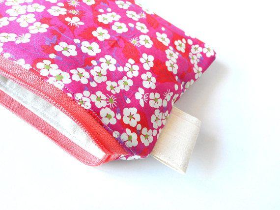 free shipingLiberty of London zipper pouch  Japanese style