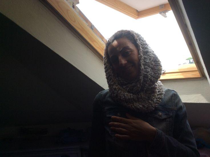 Collo in lana boucle'