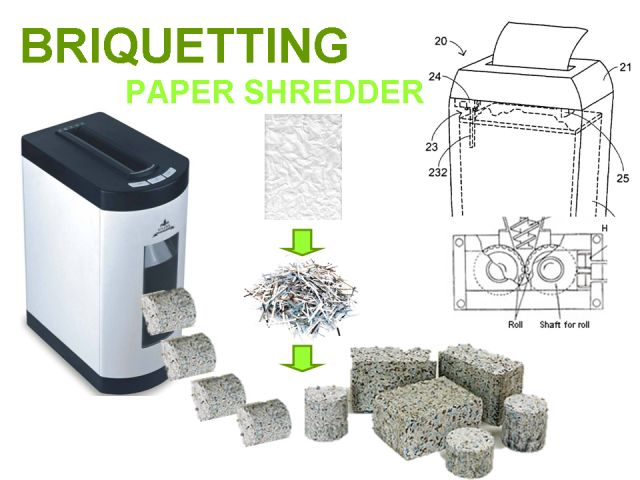 A paper shredder that gives blocks.  What would you make or do with your blocks? #tech  #gadget