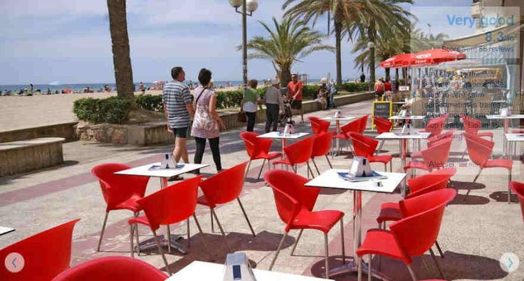 Hotels in Calafell Costa Dorada Spain Alafell-sea-front