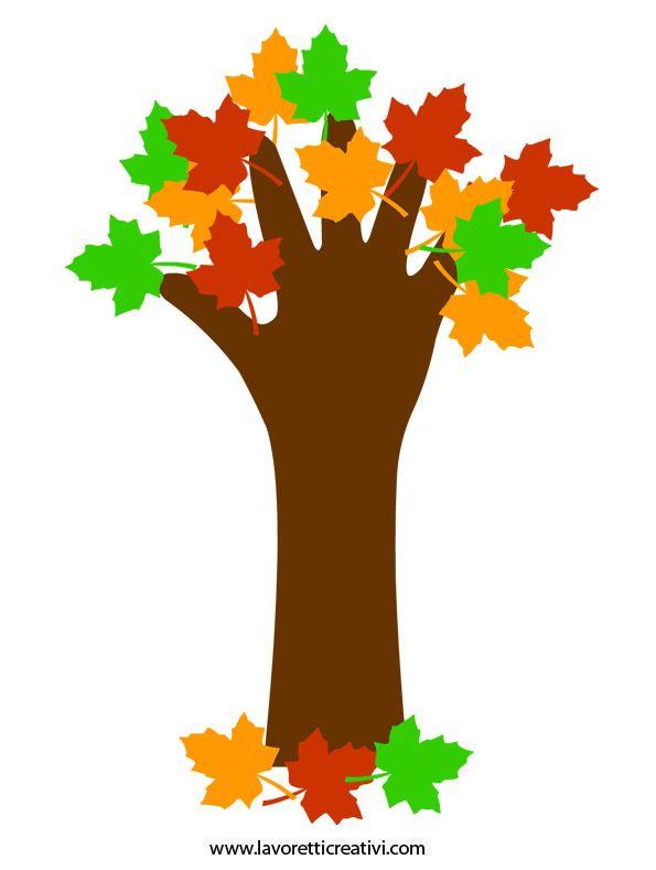Strom ruka - vzor