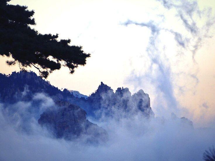 #Bavella #Corse #Montagne Merci à @carotatou
