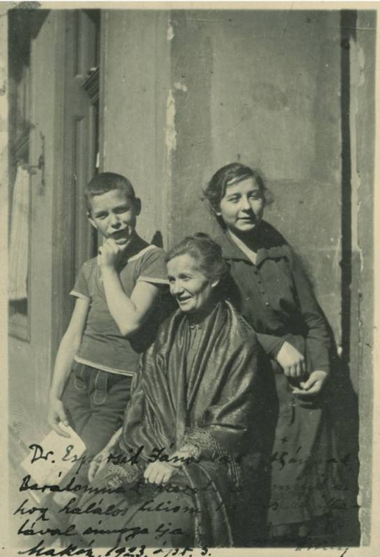 József Jolán (?): József Attila, József Áronné, József Etelka, 1919 nyár
