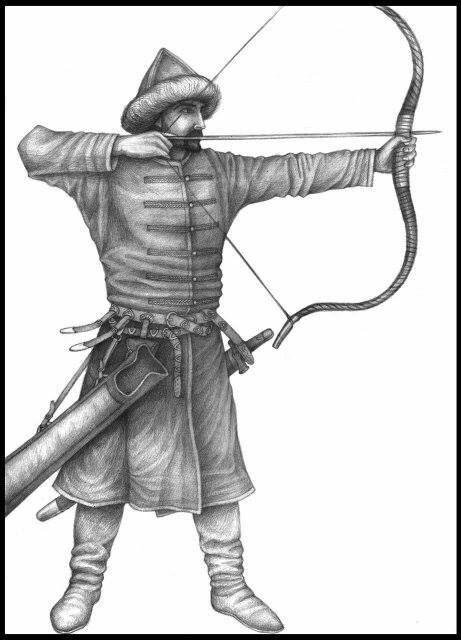 Magyar Archer by Laszlo Gyula