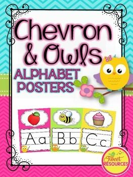 Owls and Chevron Alphabet Posters and BuntingDecorate your classroom this year with this adorable Owls and Chevron Alphabet Posters and Bunting package. This package includes the following:*26 Alphabet Posters*27 Blends and Digraphs Posters*Alphabet Bunting*Welcome Bunting*Editable Bunting*Editable Alphabet & Blends PostersThis poster set is part of a bundled Owls and Chevron Classroom Dcor Set.