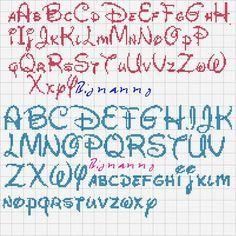 font books disney back stitching - Google Search