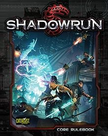 Shadowrun 5th Edition. This setting, to me, is the ultimate RPG paradise (if you can call a dystopian cyberpunk fantasy set in Seattle a 'paradise'): You've got orcs, trolls, ogres, elves, dwarves, gnomes, and humans. And dragons. Oh, and it takes place in 2050's America.