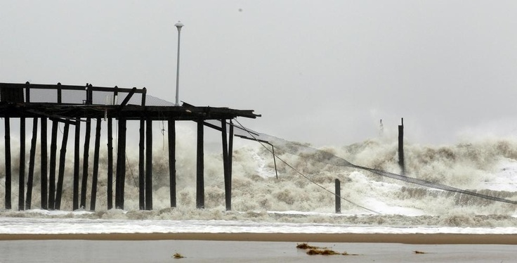 32 best images about hurricane sandy oc md on pinterest for Atlantic city fishing pier
