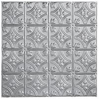 I'm thinking this will be amazing for my kitchen ceiling: Floral Circles, Ceiling Tiles, Metallair Small, Ceilings Tile, Kitchens Ceilings, Small Floral, Metallair Collection, Backsplash Metallair, Stainless Steel