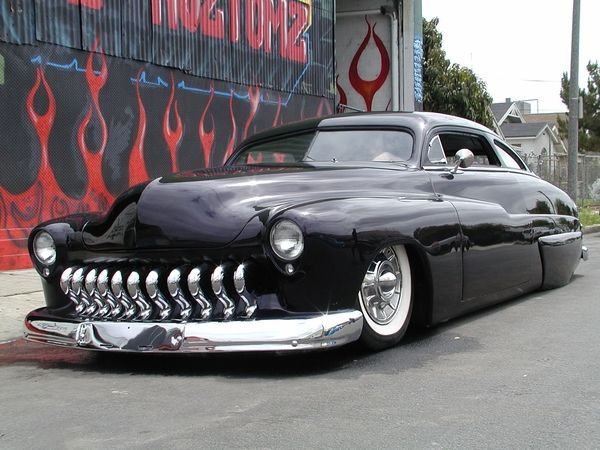 Jesse James Mercury Custom  That Sled right there, is one of my favorite cars.