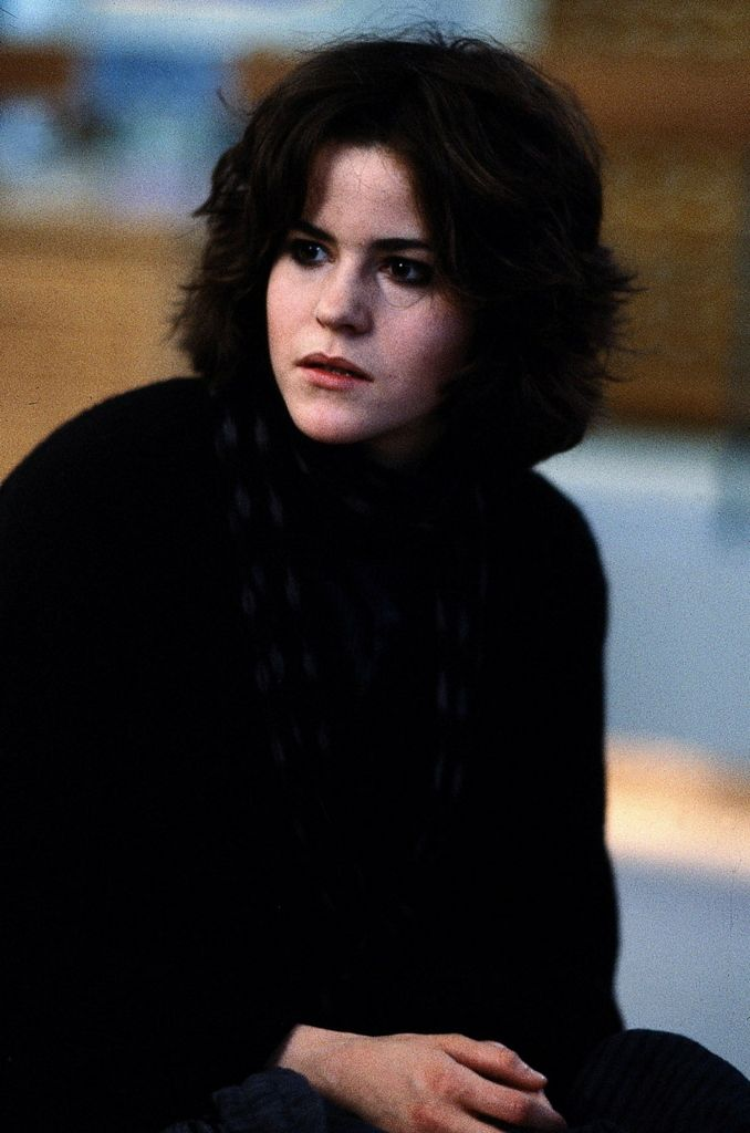 I love this hair style and I love the movie. ;) (Ally Sheedy, the breakfast club)