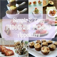 Simple and Easy Finger Food Appetizers for any Party!--great ideas