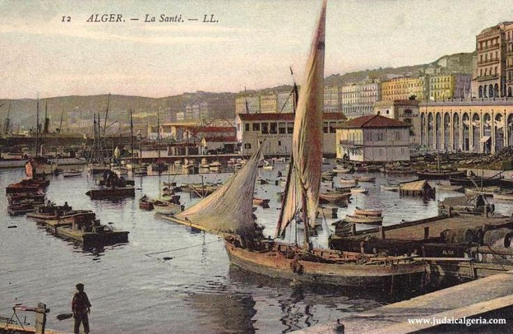 Alger - l'Amirauté vers 1909.